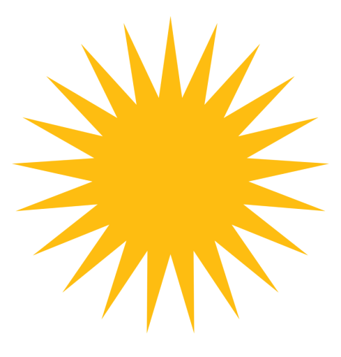 250 2502188 sun kurdistan flag hd png download removebg preview